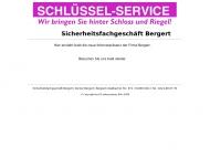 Bild Webseite Bergert Günter Hausmeisterservice u. Schlüsseldienst Köln