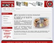 Bild Webseite Schlüsseldienst Kunz Nachf. Inh. Stephan  Dzewas Berlin