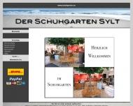Bild Webseite Der Schuhgarten Inh. Alice Ratke Sylt-Ost