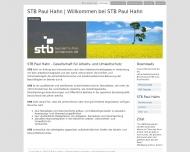 Bild STB Paul Hahn Ges. für Arbeits- und Umweltschutz mbH
