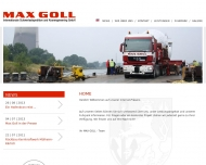Bild Max Goll Internationale Schwertransporte u. Kranengineering GmbH