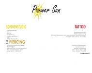 Bild Webseite Sonnenstudio Power Sun Cadolzburg