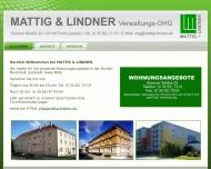 MATTIG LINDNER Verwaltungs OHG