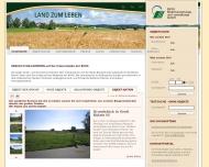 Bild Webseite BVVG Bodenverwertung  und -verwaltung Berlin