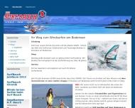 Website Bauch Helmut F. Surfshop u. Surfschule