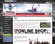 Bild Windsurfing Hamburg Surfschule