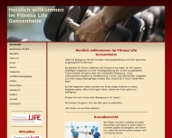 Website Fitness Life Gonsenheim