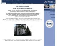 Bild Webseite Dantec Haus- u. Grundbesitzverwaltung Berlin