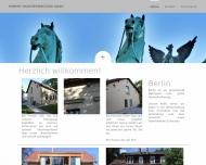 Bild Webseite Dipl.-Kfm. Eva-Maria Hubert Hausverwaltungsgesellschaft Berlin