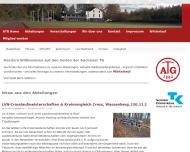 Bild Webseite Aachener Turn-Gemeinde 1862 Aachen