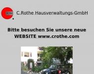 Bild Webseite C.Rothe-Hausverwaltungs Berlin