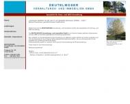 Bild Webseite Deutelmoser Grundstücks Berlin