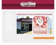Bild sportline tennis, badminton und mehr