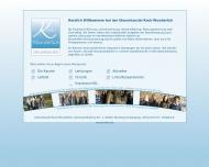 Bild Webseite Kock-Wunderlich Kerstin Steuerberater Nürnberg