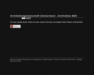 Bild Webseite Architekten-Gemeinschaft Ulf Zimmermann Dresden
