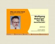Bild Webseite Heberger Wolfgang Dipl.-Kfm. Steuerberatung Nürnberg