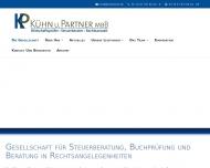 Bild Webseite Kühn u. Kollegen Steuerberater Gebhardshain