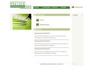Bild Webseite Peetzke Steuerberatungsgesellschaft Köln