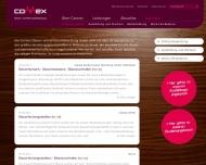 Website CONNEX Steuer- und Wirtschaftsberatung