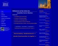 Bild Webseite Immobilien - Service München, Manfred S. Herrmann München
