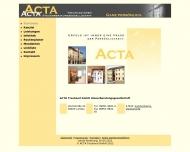 Bild ACTA Treuhand GmbH Steuerberatungsgesellschaft