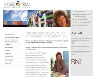 Bild Immo-Treu GmbH Immobilienverwaltungen Haus- und Grundstücksverwaltung