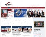 Bild Webseite REWISTO Aachen Steuerberatungsgesellschaft Aachen