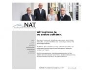 Bild Webseite NAT Reutlingen