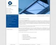 Website ALPHA Steuerberatungsgesellschaft