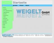 Bild Webseite Weigelt Berlin
