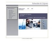 Bild Webseite SZ-Treuhand Steuerberatungsgesellschaft Heilbronn
