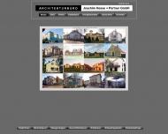 Bild Webseite Architekturbüro Joachim Hesse & Partner Berlin