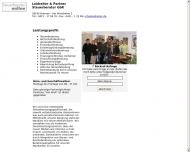Bild Webseite Leidreiter & Coll. Steuerberatungsgesellschaft Bremen