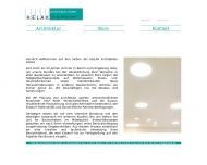 Website HELAK Architekten