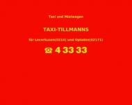Bild Taxi Tillmanns