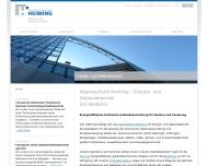 Ingenieurb?ro Heiming - Energie- und Geb?udetechnik. Planung, Bauleitung, Energiekonzepte, Wirtschaf...