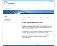 Website Heiming Ingenieurbüro