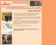 Website Planungsbüro Stadt-Kinder