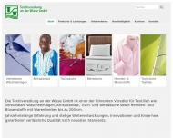 Bild Textilveredlung an der Wiese GmbH