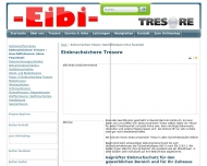 Website Eibi-Tresor Vertriebs