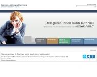 Bild Webseite Baumgartner + Partner Personalberatung München