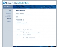 Website Fischer & Partner