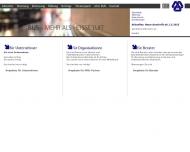 Bild Webseite BUS-Betreuung  und Unternehmensberatung München
