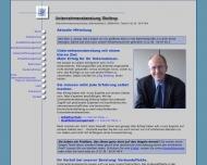Bild Webseite Unternehmensberatung Stottrop Köln
