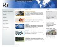 Bild Webseite Software Factory Gesellschaft f. Unternehmensberatung u. Softwareengineering München