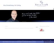 Bild Webseite Solution Unternehmensberatung Stuttgart
