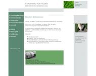 Website Unternehmensberatung Timm Anja