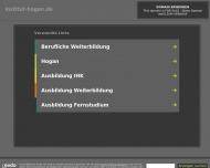 Bild Webseite Privatinstitut HOGAN Bildung Management Beratung Berlin