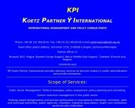 Bild Webseite Koetz Axel G. Dr. Dipl.-Volksw. Unternehmensberater Köln