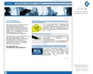 Bild Webseite G.U.M. Gesellschaft für Unternehmens- und Managementberatung Berlin